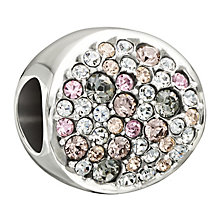 Chamilia Sterling Silver Swarovski Crystal Dazzle Bead - Product number 1987720