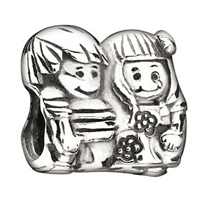 Chamilia Sterling Silver Brother & Sister Bead - Product number 1987828