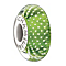 Chamilia Sterling Silver Mystic Lime Murano Glass Bead - Product number 1987976