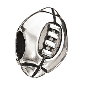 Chamilia Sterling Silver Football Bead - Product number 1988085