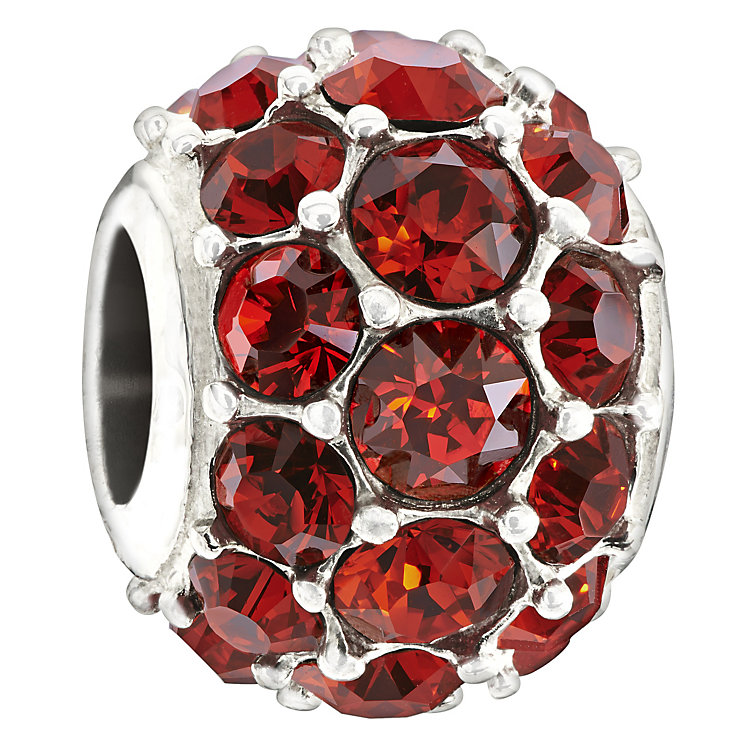 Chamilia Splendour Silver Red Swarovski Crystal Bead - Product number 1988174
