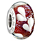 Chamilia Silver Pink Dichroic Murano Glass Hearts Bead - Product number 1988182