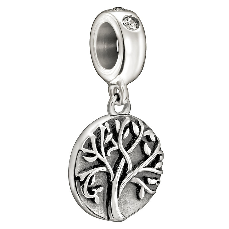 Chamilia Sterling Silver Crystal Set Tree Of Life Bead - Product number 1988255