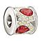 Chamilia Royal Petals Red & Yellow Swarovski Crystal Bead - Product number 1988263