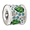Chamilia Royal Petals Green & Blue Swarovski Crystal Bead - Product number 1988271