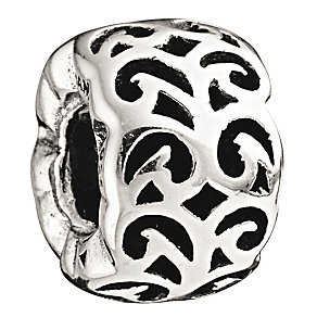 Chamilia Sterling Silver 'Swirling Dreams' Bead - Product number 1988387