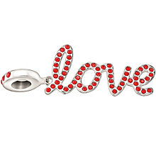Chamilia Silver & Red Swarovski Crystal Love Bead - Product number 1988964