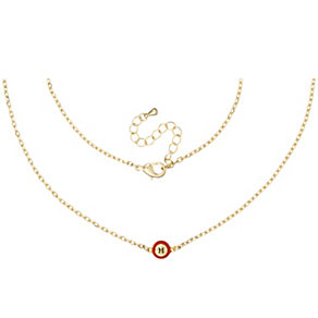 Henry Holland Gold-Plated Red Bingo Ball Necklace - Product number 1989227