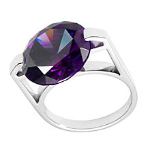 Henry Holland Spinning Purple Crystal Ring Size Medium - Product number 1989294