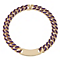 Henry Holland Gold-Plated Purple Enamel ID Necklet - Product number 1989669