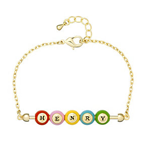 "Henry Holland Gold-Plated Henry Bingo Ball 7"" Bracelet - Product number 1989731"