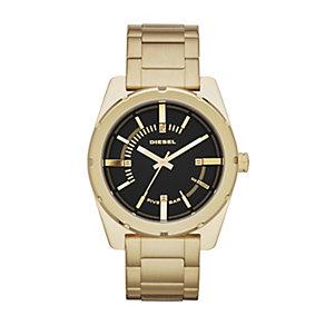 Diesel Ladies' Gold Tone Stainless Steel Bracelet Watch - Product number 1992171