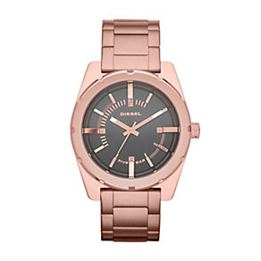 Diesel Ladies' Good Company Rose Gold Tone Bracelet Watch - Product number 1992198