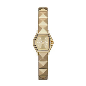 Diesel Z Back Up Ladies' Gold Tone Bracelet Watch - Product number 1992333