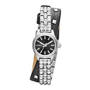 Diesel Kray Kray 22 Ladies' Silver Tone Bracelet Strap Watch - Product number 1992341