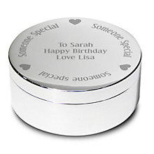 Engraved 'Someone Special' Round Trinket - Product number 1996304