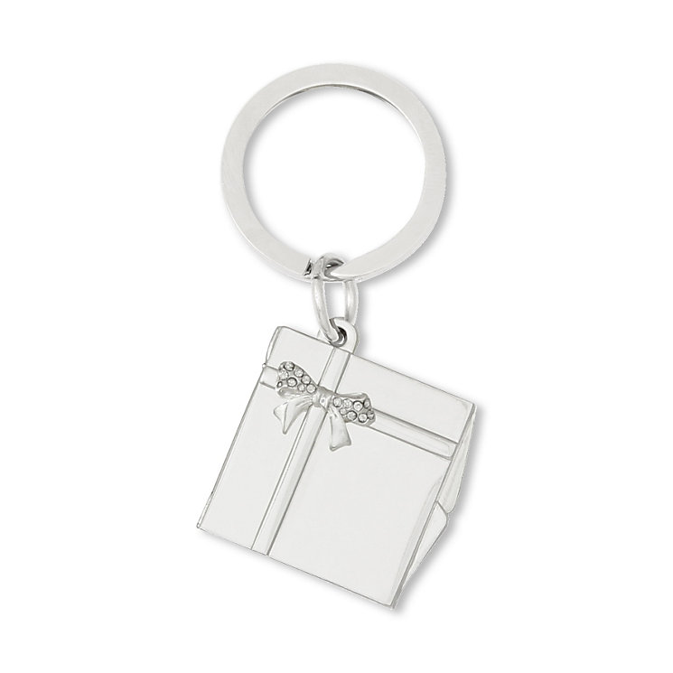 Engraved Bow Photo Keyring - Product number 1996339