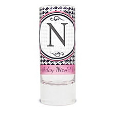Personalised Shot Glass - Houndstooth Design - Product number 1996851