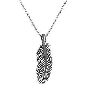 Hot Diamonds Sterling Silver Feather Pendant - Product number 1996908