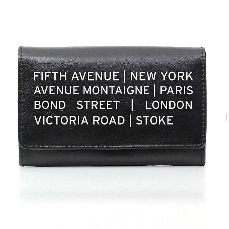 Personalised Black Purse -  Shopping Destination Design - Product number 1997262