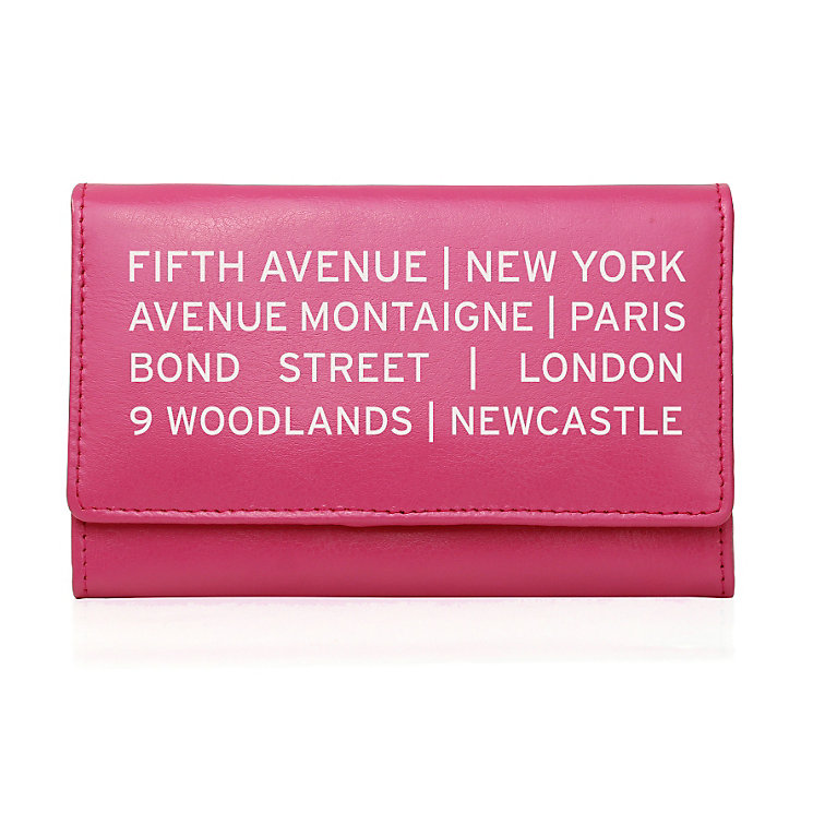 Personalised Pink Purse - Shopping Destination Design - Product number 1997319