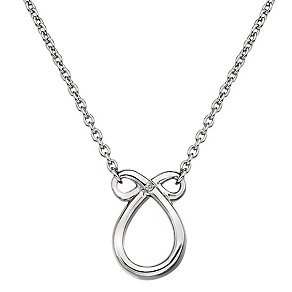 Hot Diamonds Sterling Silver Swirl Pendant - Product number 1997696
