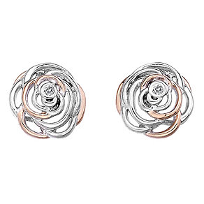 Hot Diamonds Eternal Rose Two Colour Stud Earrings - Product number 1998269