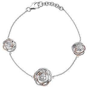 Hot Diamonds Eternal Rose Two Colour Bracelet - Product number 1998277
