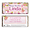 Personalised Chocolate Bar - Floral Union Jack Design - Product number 1998811