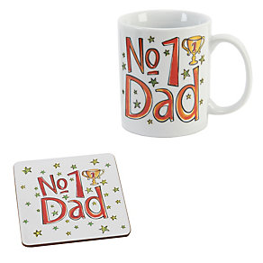 No. 1 Dad Mug & Coaster Set - Product number 1999508