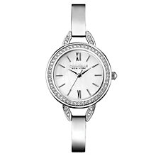 Caravelle New York Ladies' Stainless Steel Bangle Watch - Product number 2001128