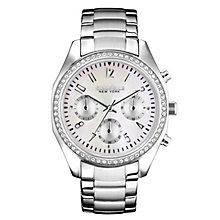 Caravelle New York Ladies' Stainless Steel Bracelet Watch - Product number 2001470