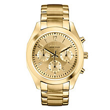 Caravelle New York Ladies' Gold-Plated Bracelet Watch - Product number 2001608