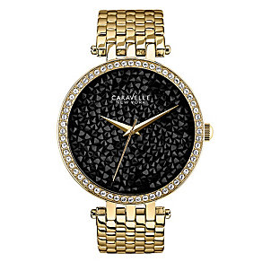 Caravelle New York Ladies' Gold-Plated Bracelet Watch - Product number 2001853