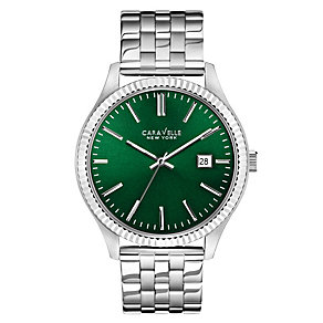Caravelle New York Men's Stainless Steel Bracelet Watch - Product number 2002183