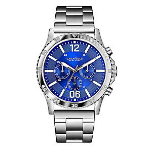 Caravelle New York Men's Stainless Steel Bracelet Watch - Product number 2002450