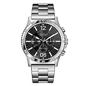 Caravelle New York Men's Stainless Steel Bracelet Watch - Product number 2002558