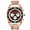 Caravelle New York Men's Rose Gold-Plated Bracelet Watch - Product number 2002728