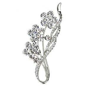 Crystal Flower Brooch - Product number 2004690