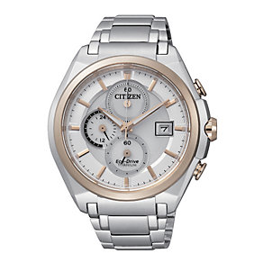 Citizen Eco-Drive Men's Titanium Bracelet Watch - Product number 2005735