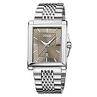 Gucci men's rectangular dial stainless steel bracelet watch - Product number 2007320
