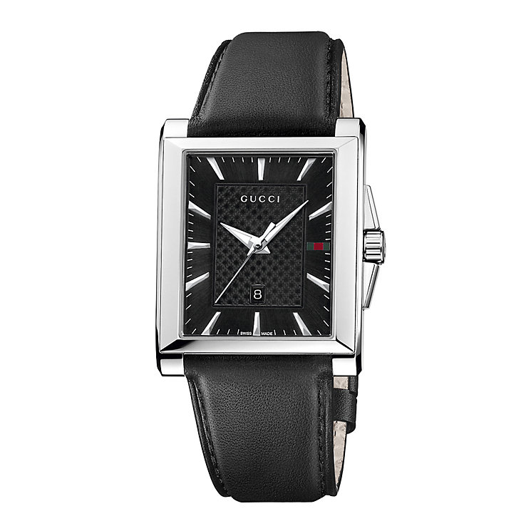 Gucci G-Timeless men's stainless steel black strap watch - Product number 2007339