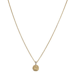 Marco Bicego Delicati 18ct gold diamond set pendant - Product number 2009676