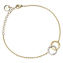 Marco Bicego Delicati 18ct gold diamond bracelet - Product number 2009714