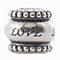 Charmed Memories Sterling Silver Spinner 'Love' Bead - Product number 2011891
