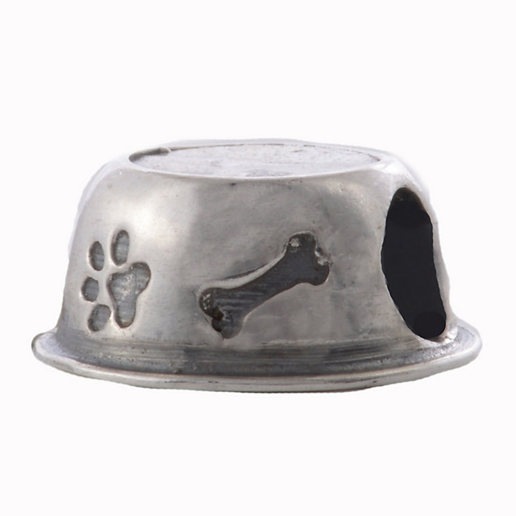 Charmed Memories Sterling Silver Dog Bowl Bead - Product number 2012049
