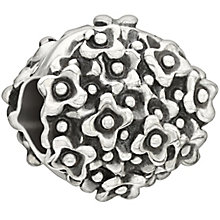 Chamilia Hydrangea July sterling silver bead - Product number 2014025