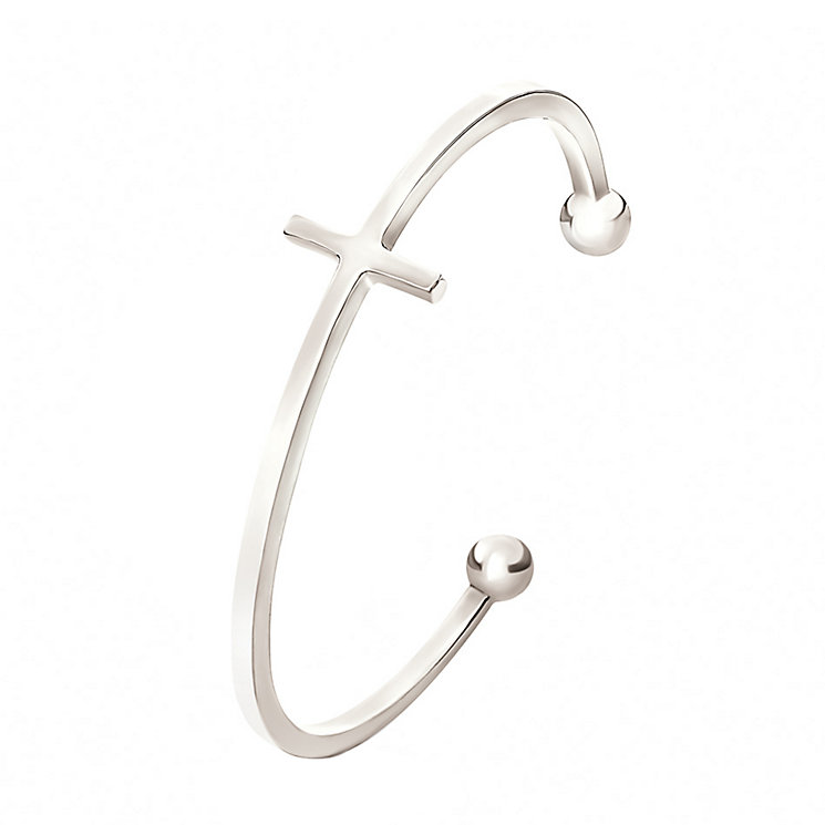 Folli Follie Carma silver-plated bangle - Product number 2015153