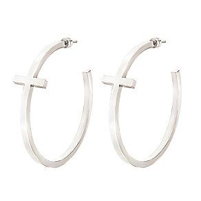 Folli Follie Carma silver-plated hoop earrings - Product number 2015188