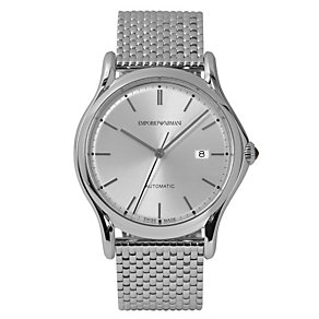 Emporio Armani Swiss Made men's steel bracelet watch - Product number 2018039